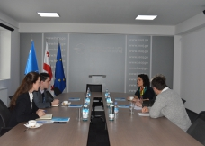 შეხვედრა გერმანიის საერთაშორისო თანამშრომლობის საზოგადოებასთან (GIZ)