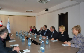 Visits of Lithuanian and Latvian delegations